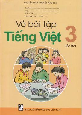 Vở bài tập Tiếng Việt 3 tập 2