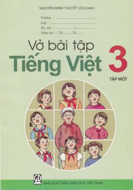 Vở bài tập Tiếng Việt 3 tập 1
