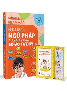 Mind map grammar- Học nhanh ngữ pháp tiếng anh bằng sơ đồ tư duy (tổng hợp ngữ pháp L3,4,5)