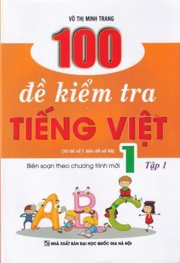 100 đề kiểm tra Tiếng việt 1/1 KV1