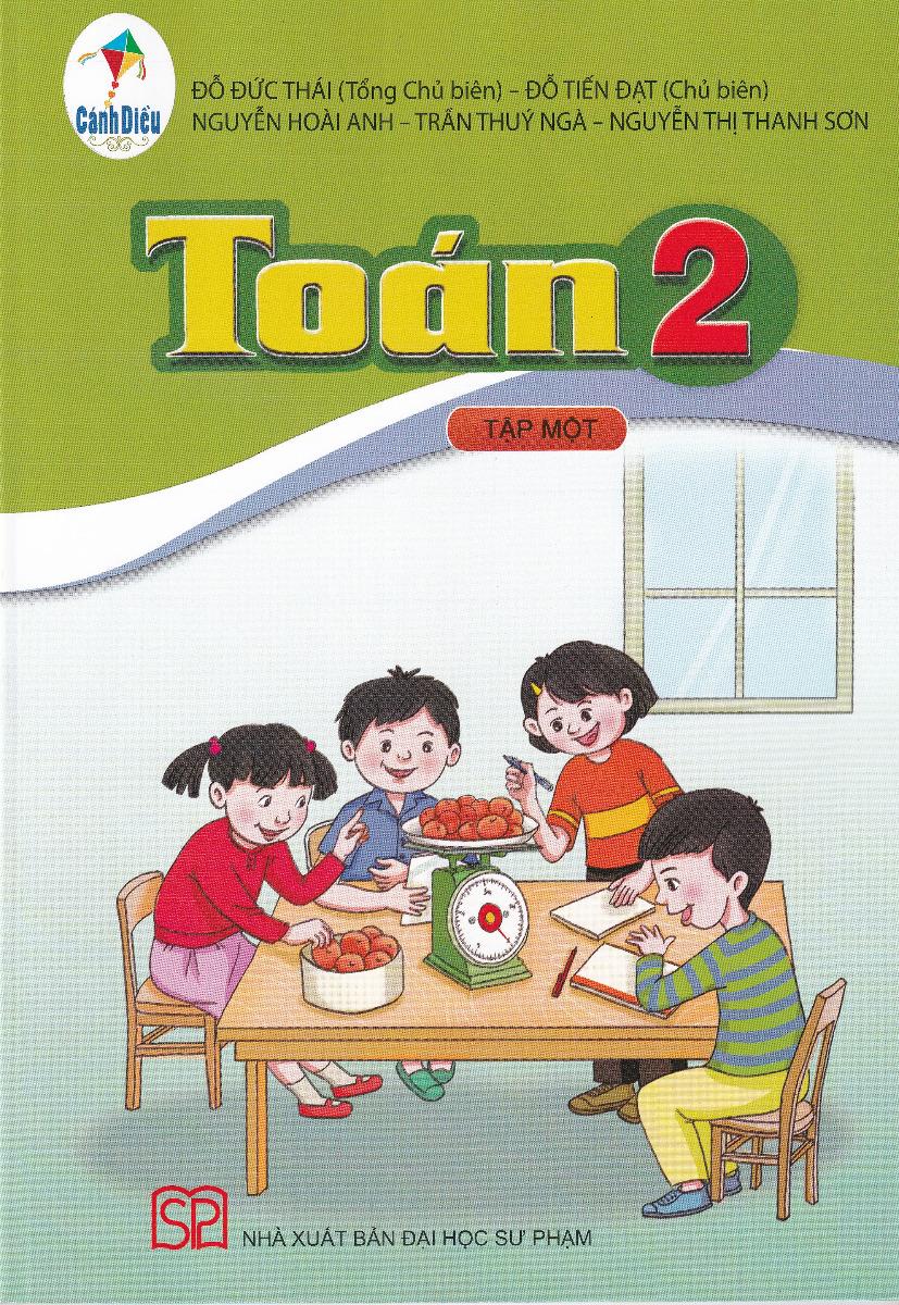 Toán lớp 2 tập 1 - Bộ sách cánh diều