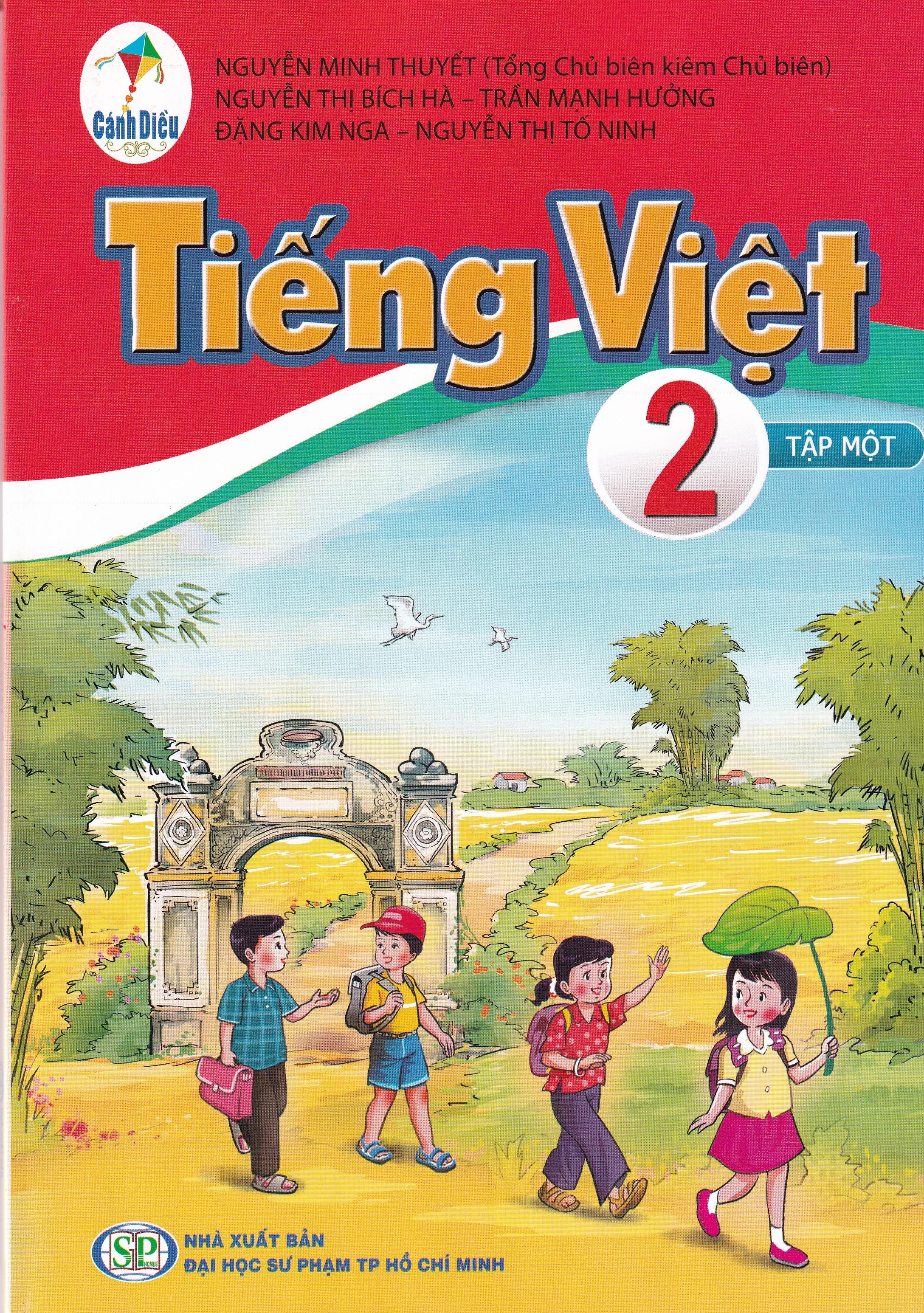 Sách tiếng Việt tập 1 lớp 2 -  Bộ sách cánh diều